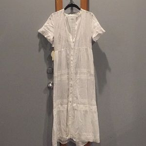 Aritizia Wilfred La Boheme Aude dress (no slip)